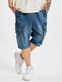 VSCT Clubwear Shorts Logan Denim blau