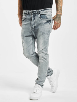 VSCT Clubwear Skinny Jeans Keanu Lowcrotch šedá