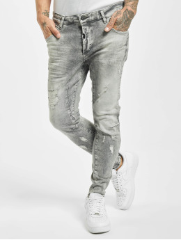 VSCT Clubwear Skinny Jeans New Keanu Spencer Hybrid šedá