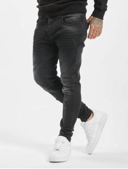 VSCT Clubwear Slim Fit -farkut New Keanu-Spencer Hybrid musta