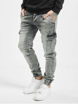 VSCT Clubwear Slim Fit Jeans Noah šedá