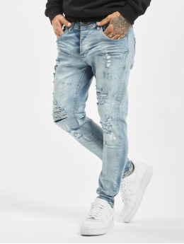 VSCT Clubwear Slim Fit Jeans Thor Superused blå