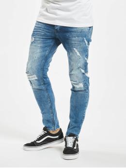 VSCT Clubwear Slim Fit Jeans Knox modrý