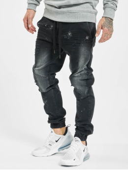 VSCT Clubwear Slim Fit Jeans Noah  svart