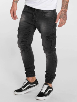 VSCT Clubwear Slim Fit Jeans Noah Cargo Expedited zwart
