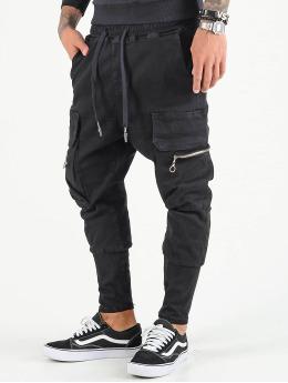 VSCT Clubwear Spodnie Chino/Cargo Logan  czarny