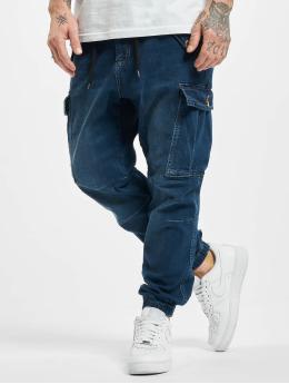 VSCT Clubwear Spodnie Chino/Cargo Norman Dnm niebieski