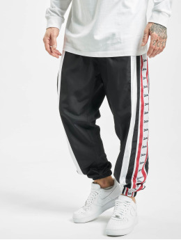 VSCT Clubwear Spodnie do joggingu MC Nylon Striped czarny