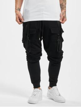 VSCT Clubwear Spodnie do joggingu Tape  czarny