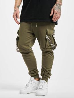VSCT Clubwear Spodnie do joggingu Cargo Logo Tape khaki
