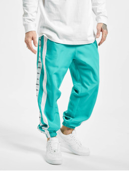 VSCT Clubwear Spodnie do joggingu MC Nylon Striped  turkusowy
