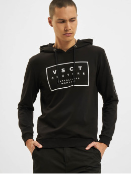 VSCT Clubwear Sweat capuche Logo Couture noir