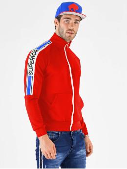 VSCT Clubwear Sweat capuche zippé Superior  rouge