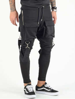 VSCT Clubwear Sweat Pant Front PKT black