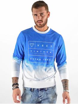 VSCT Clubwear Swetry Logo Crew niebieski