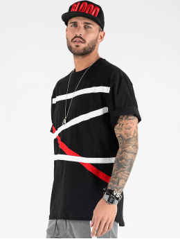 VSCT Clubwear T-paidat Tape Bulky musta