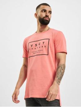 VSCT Clubwear T-shirt Logo Believe Back  rosa