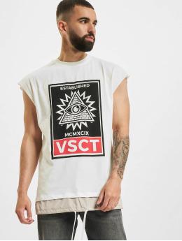 VSCT Clubwear T-Shirt 2 In 1 Eye Oversize  white