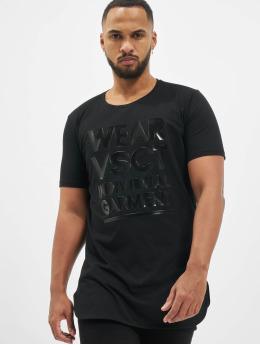 VSCT Clubwear T-Shirty Logo Couture czarny