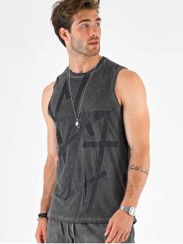 VSCT Clubwear Tank Tops Sharp Logo Sleeveless grå