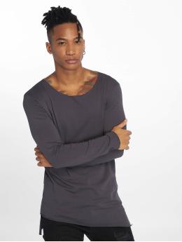 VSCT Clubwear Tričká dlhý rukáv Basicx šedá