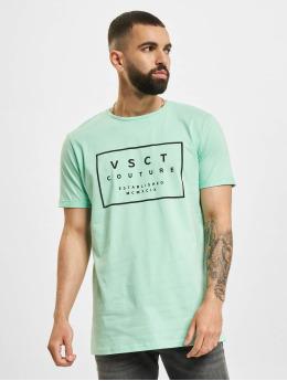 VSCT Clubwear Tričká Logo Believe Back zelená