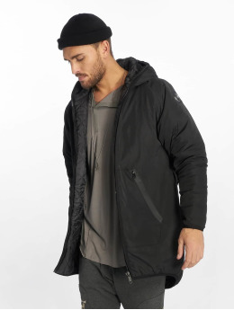 VSCT Clubwear Männer Übergangsjacke Removeable Bag Utility in schwarz
