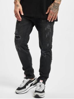 VSCT Clubwear Väljät farkut Keanu Loose Fit Hyper  musta