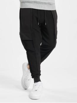 VSCT Clubwear Verryttelyhousut Lowcrotch Cut To Edge musta