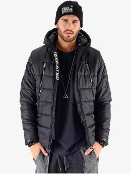 VSCT Clubwear Winter Jacket Padded Puffer black