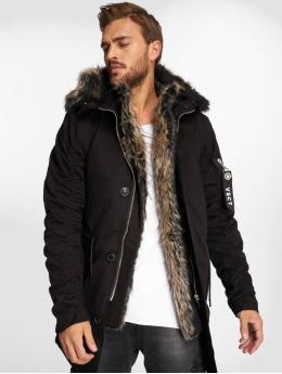 VSCT Clubwear winterjas 2-Face zwart