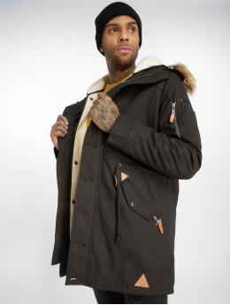 VSCT Clubwear Zimní bundy Luxury čern