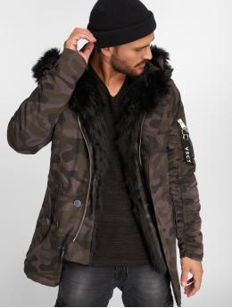 VSCT Clubwear Zimní bundy 2-Face čern