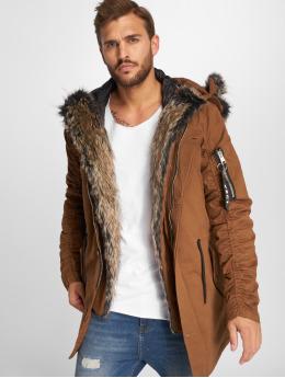 VSCT Clubwear Zimní bundy 2-Face hnědý