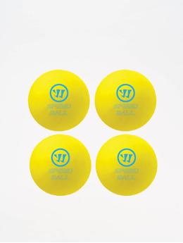 Warrior Ice Hockeyequipment Mini Speedball 4P yellow