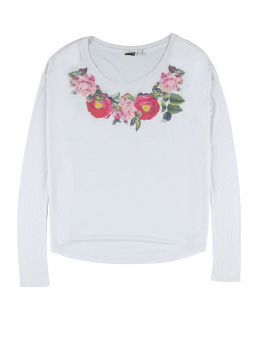 Weebit Longsleeves Flower bialy