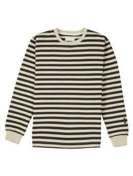 Wemoto Sweat & Pull Lawrence Stripe noir