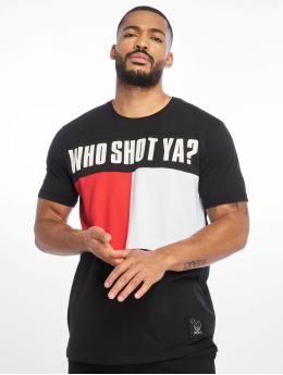 Who Shot Ya? Футболка Block черный