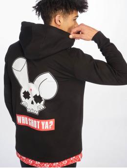 Who Shot Ya? Bluzy z kapturem Big Logo czerwony