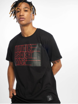 Who Shot Ya? Camiseta Sling negro