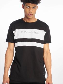 Who Shot Ya? Camiseta Forse negro