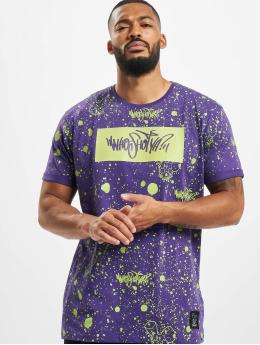 Who Shot Ya? Camiseta W Zone púrpura