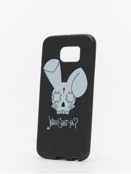 Who Shot Ya? Handyhülle Bunny Logo Samsung  schwarz
