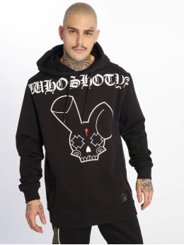 Who Shot Ya? Hoodies Grandmaster čern