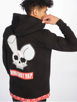 Who Shot Ya? Hoodies Big Logo červený
