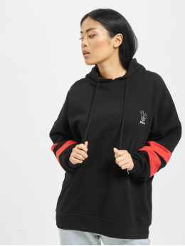 Who Shot Ya? Hoody Stripes  schwarz