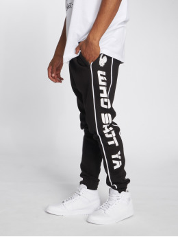 Who Shot Ya? Pantalone ginnico Fat Sniper nero
