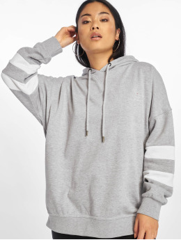 Who Shot Ya? Sweat capuche Stripes gris
