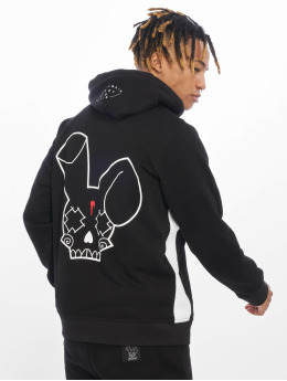 Who Shot Ya? Sweat capuche zippé Pearl noir