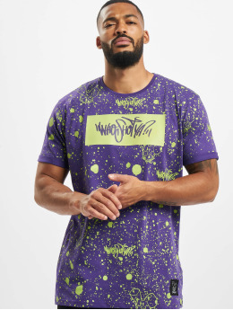 Who Shot Ya? T-Shirt W Zone violet